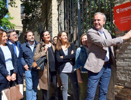 Azcón se compromete a acabar con el sectarismo de la izquierda
