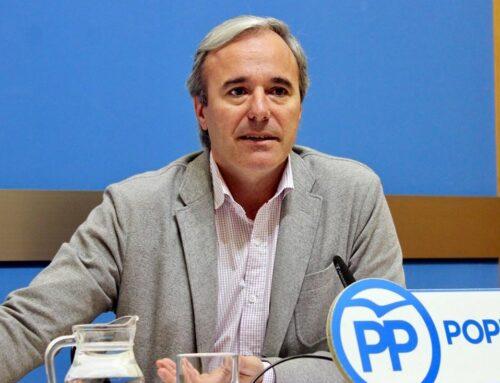 "Azcón advierte: ""Votar Psoe es votar ZeC y Podemos"""